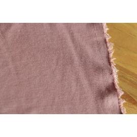 Maille piquée cupro rose