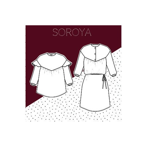 Soraya 2 en 1 blouse/top