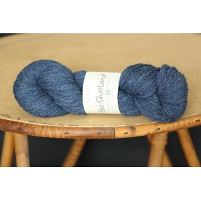 Bio Shetland bleu jean