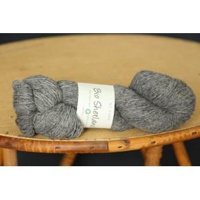 Bio shetland gris chiné bc garn