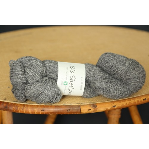 Bio shetland gris chiné
