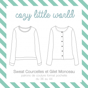 Gilet Monceau et sweat Courcelles