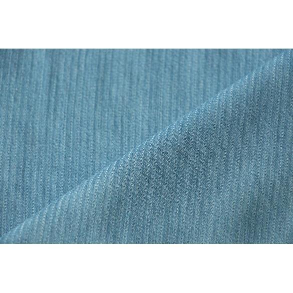 Chambray tencel bleu délavé