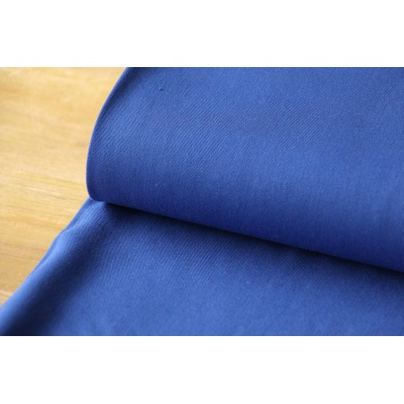 Twill de viscose bleu royal