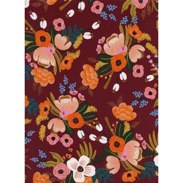 LIVELY FLORAL BURGUNDY - Rifle Paper Co