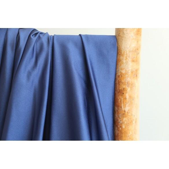 Tissu pour maillot de bain bleu nuit brillant