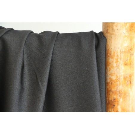 Tissu pour maillot de bain noir brillant