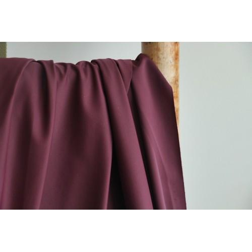 Tissu pour maillot de bain bordeaux mat
