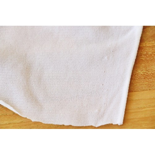 Tissu mousse doublure pour maillot de bain BLANC