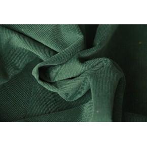 Velours milleraies vert sapin