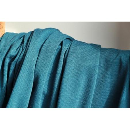 Maille milano bleu canard