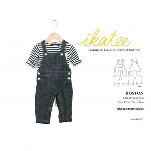 Salopette BOSTON-IKATEE 6/24 mois