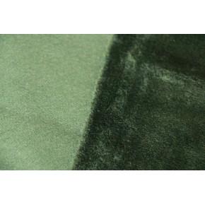 Molleton vert  envers douillette