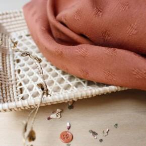 Viscose Diamond Chestnut - Atelier Brunette