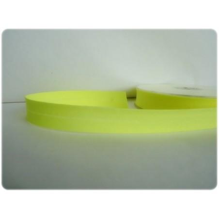 Biais jaune fluo