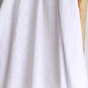 broderie anglaise capucine blanc