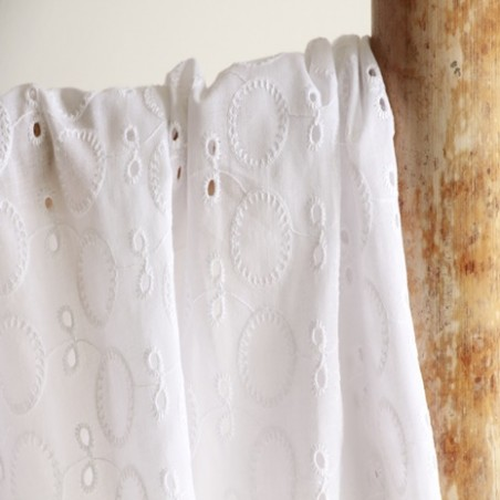 broderie anglaise sixtine blanc