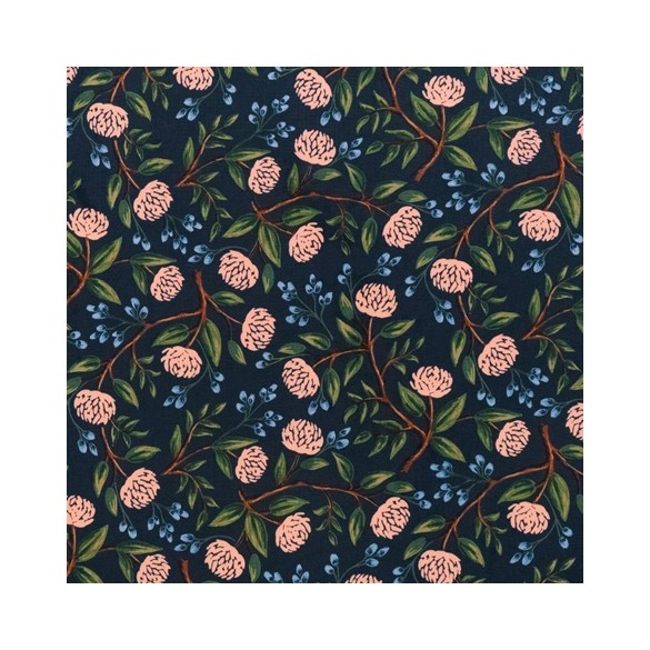 PEONIES NAVY RIFLE PAPER CO