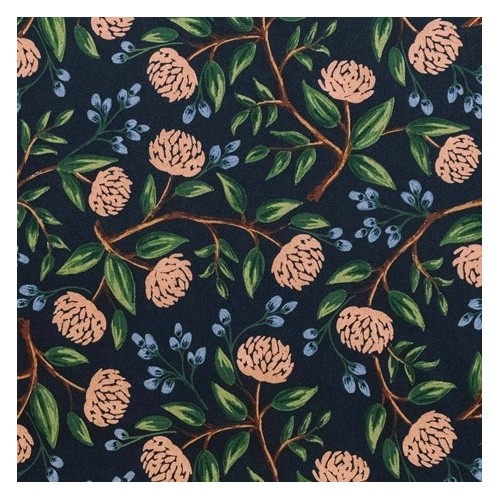 CANVAS PEONIES BLUE RIFLE PAPER CO