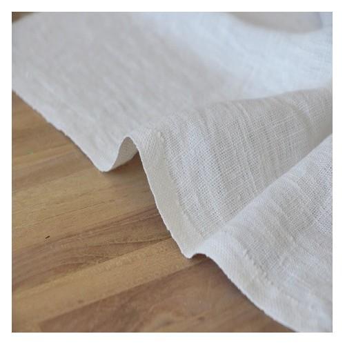 lin lavé ivoire