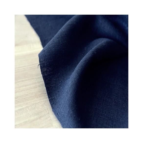 lin lavé noir