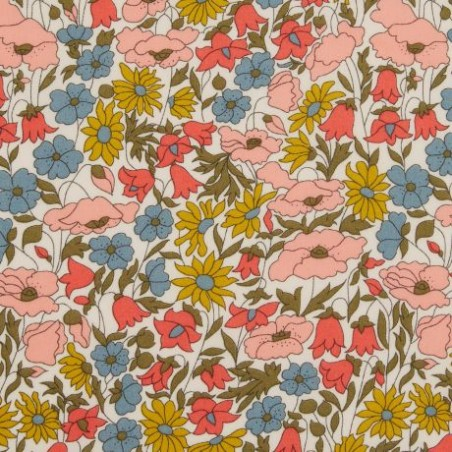 tissu liberty poppy and daisy venus