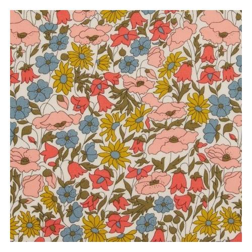 tissu liberty poppy and daisy venus