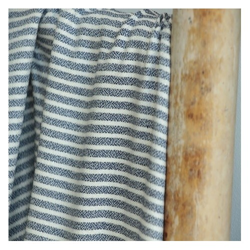viscose lurex stripes