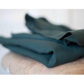 tissu tencel et lin vert basil meetmilk