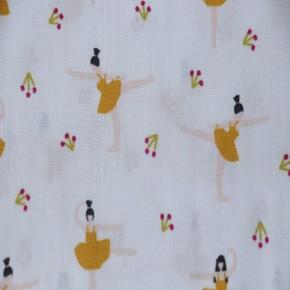 coton imprimé danseuse