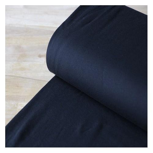 jersey coton bio noir