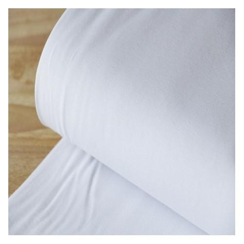 jersey coton bio blanc