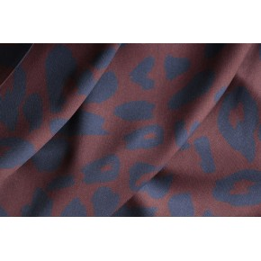 viscose urban leo brown tissu mind the maker