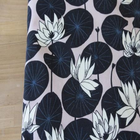 tissu sweat lotus