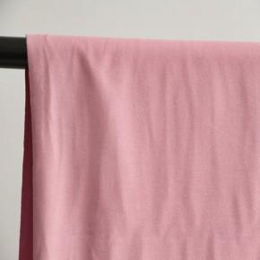 tissu sweat bio rose