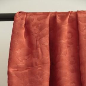tissu viscose satinée brique
