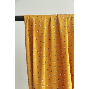 tissu crepon françoise moutarde