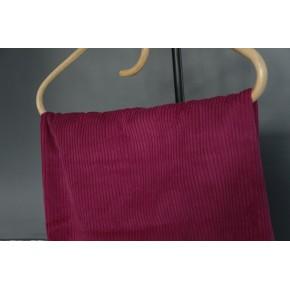 tissu velours côtelé burgundy