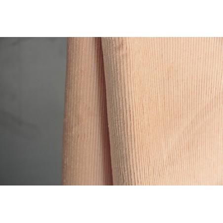 tissu velours rose