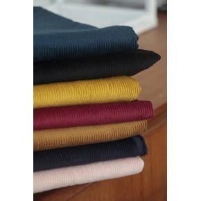 tissu velours côtelé et elasthanne