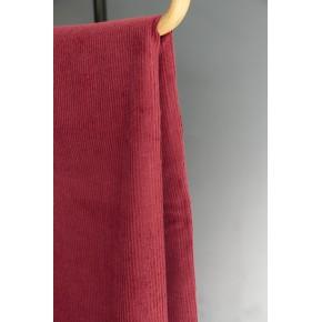 tissu velours bordeaux