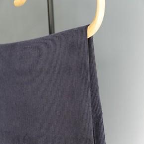 tissu velours côtelé marine