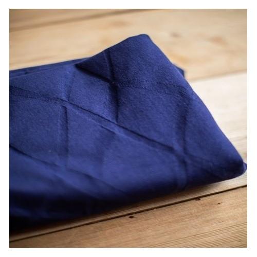 jersey bio wave jacquard navy blue