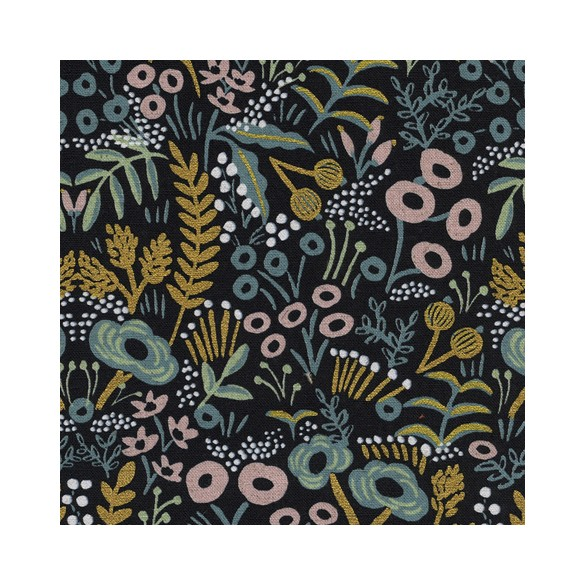 Canvas Tapestry Midnight Metallic