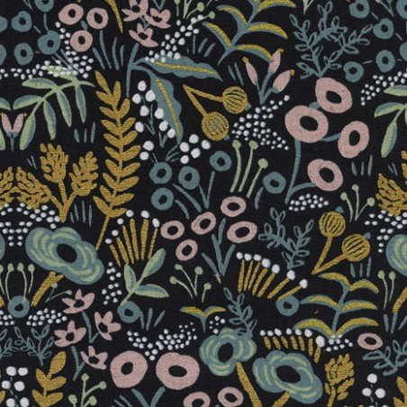 Canvas Tapestry Midnight Metallic