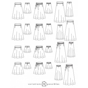 jupe arpège - atelier scammit