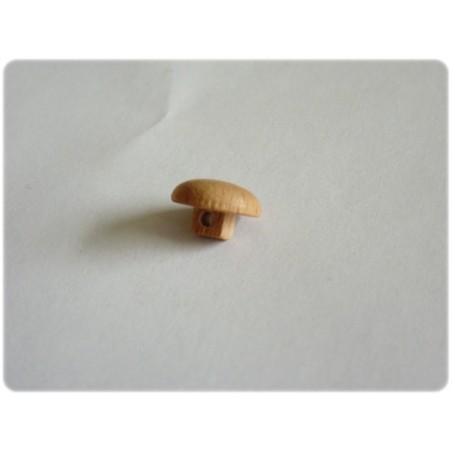Bouton en bois rond 10 mm