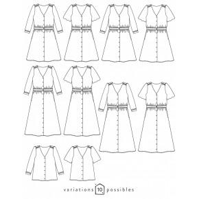 patron robe femme - atelier scammit