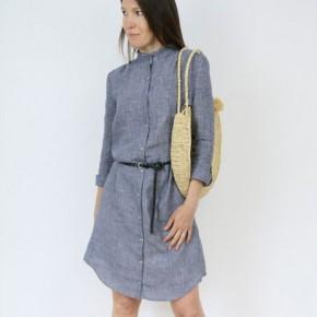 Robe chemise Azur