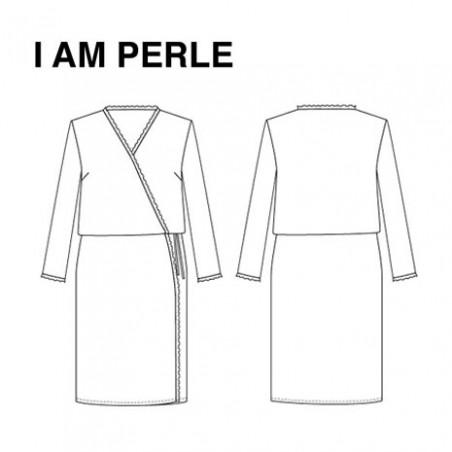 dessin Technique robe perle